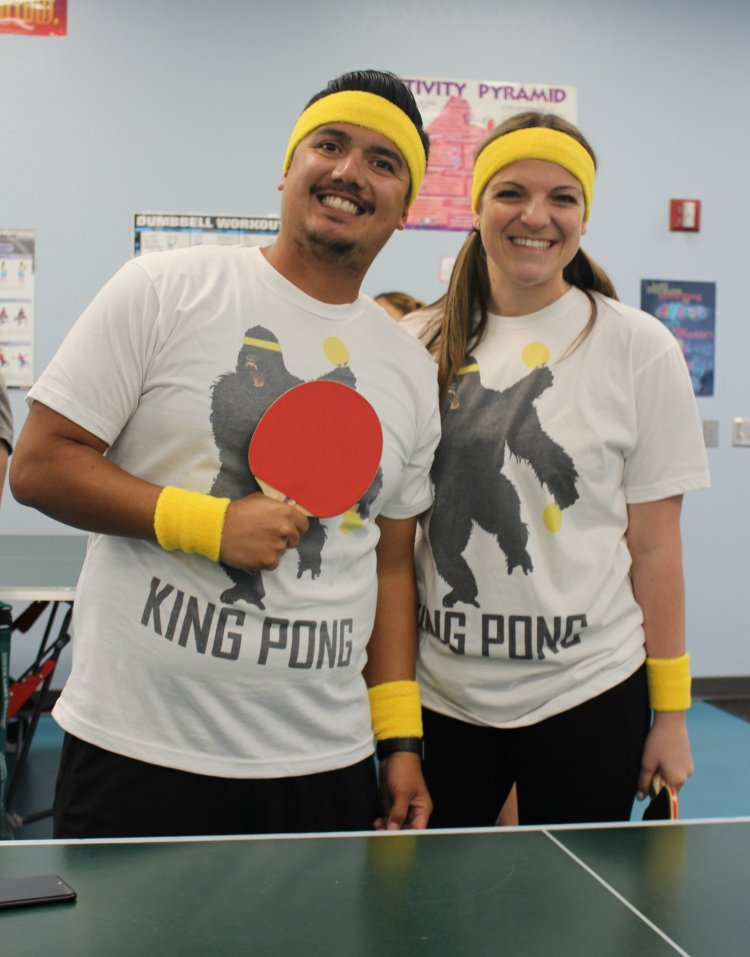 teachers and ping pong