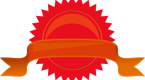 red seal with gold ribbon